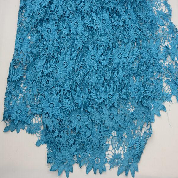 shiny guipure fabric