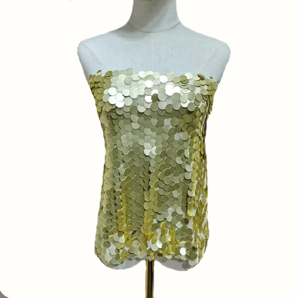 Large Sequin Tull Fabric