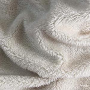Polyester Arctic Velvet Fabric